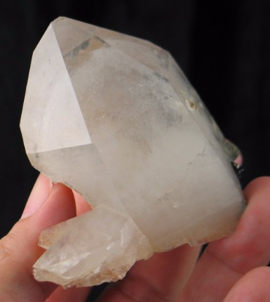 Arsenopyrite in Phantom Quartz China :: Image is of piece for sale.