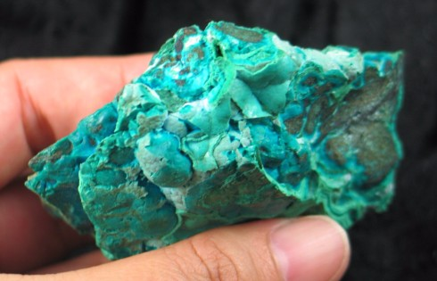 Malachite & Chrysocolla Formation :: Image is of piece for sale.