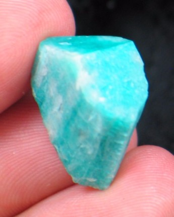 Gemmy Turquoise Amazonite Crystal CO