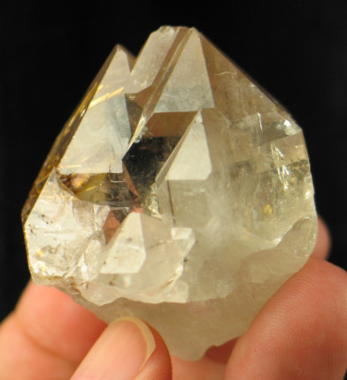 Hematite Rutile Star in Quartz Castle :: Image is of piece for sale.