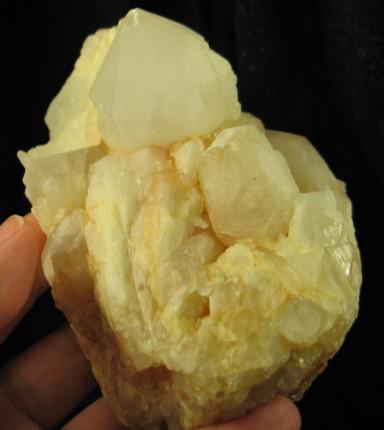 Lovestar Candle Quartz Cluster :: Image is of piece for sale.