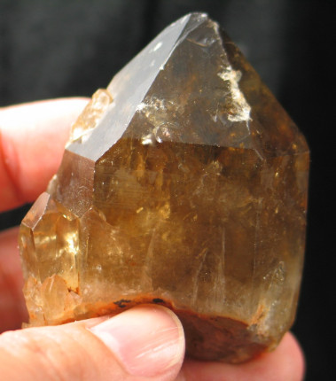 Rich Colored Congo Smoky Citrine Crystal :: Image is of piece for sale.