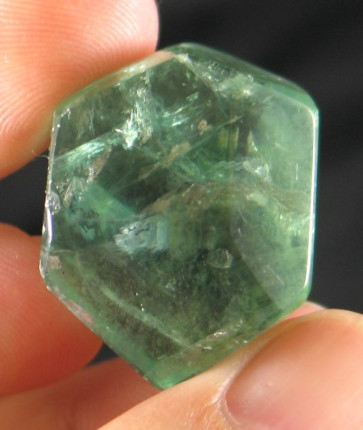 Green Fluorite Formation :: Image is of piece for sale.