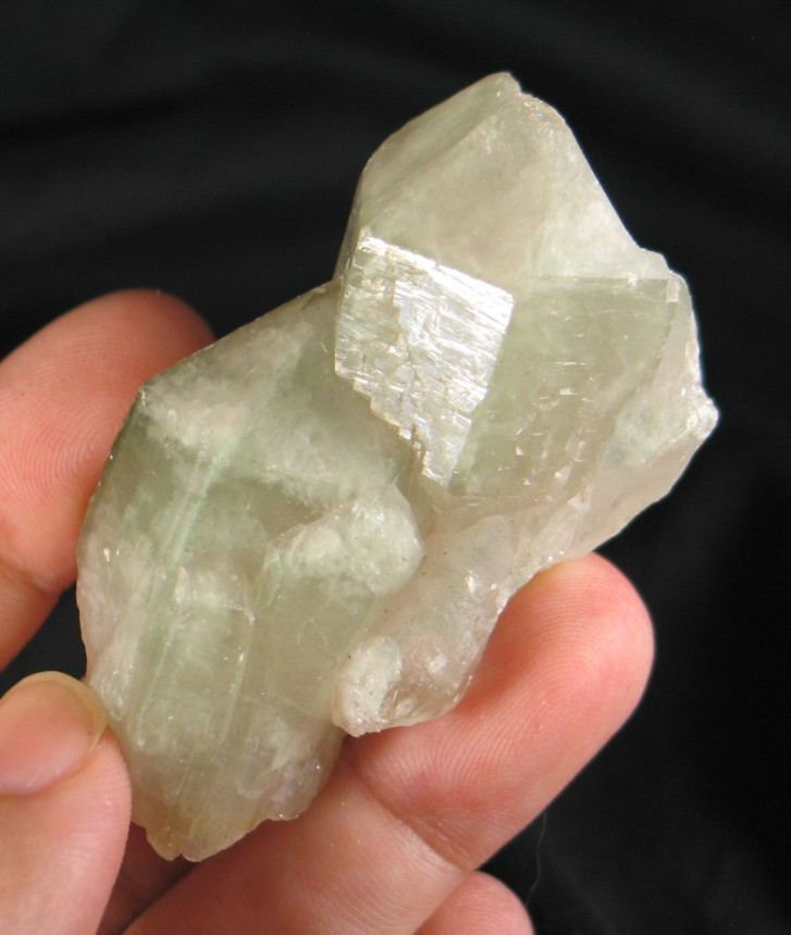 Colombian Dream Quartz - Celadonite Phantom Quartz :: Image is of piece for sale.