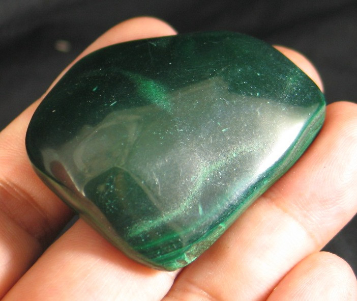 Polished Malachite Freeform  :: Image is of piece for sale.
