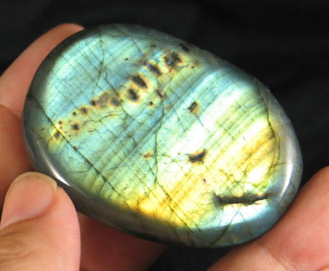 Brilliant Flash Labradorite Freeform :: Image is of piece for sale.