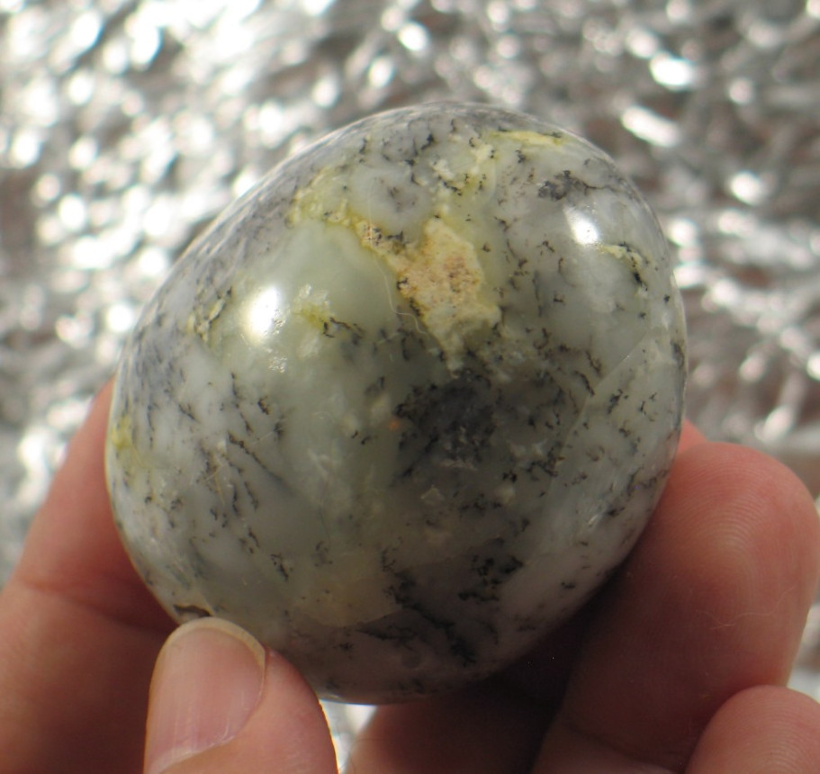 Dendritic Agate Freeform :: Image is of piece for sale.