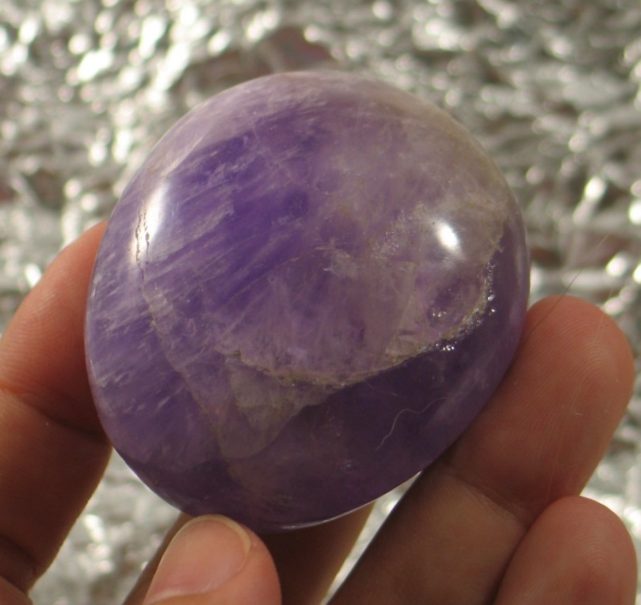 Bright Amethyst Freeform :: Image is of piece for sale.