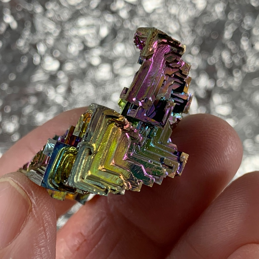 Vibrant Bisthmuth Formation  :: Image is of piece for sale.